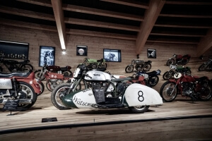 TOP Mountain Motorcycle Museum Hochgurgl/Tyrol: Exhibiton of legendary racing motorcycles