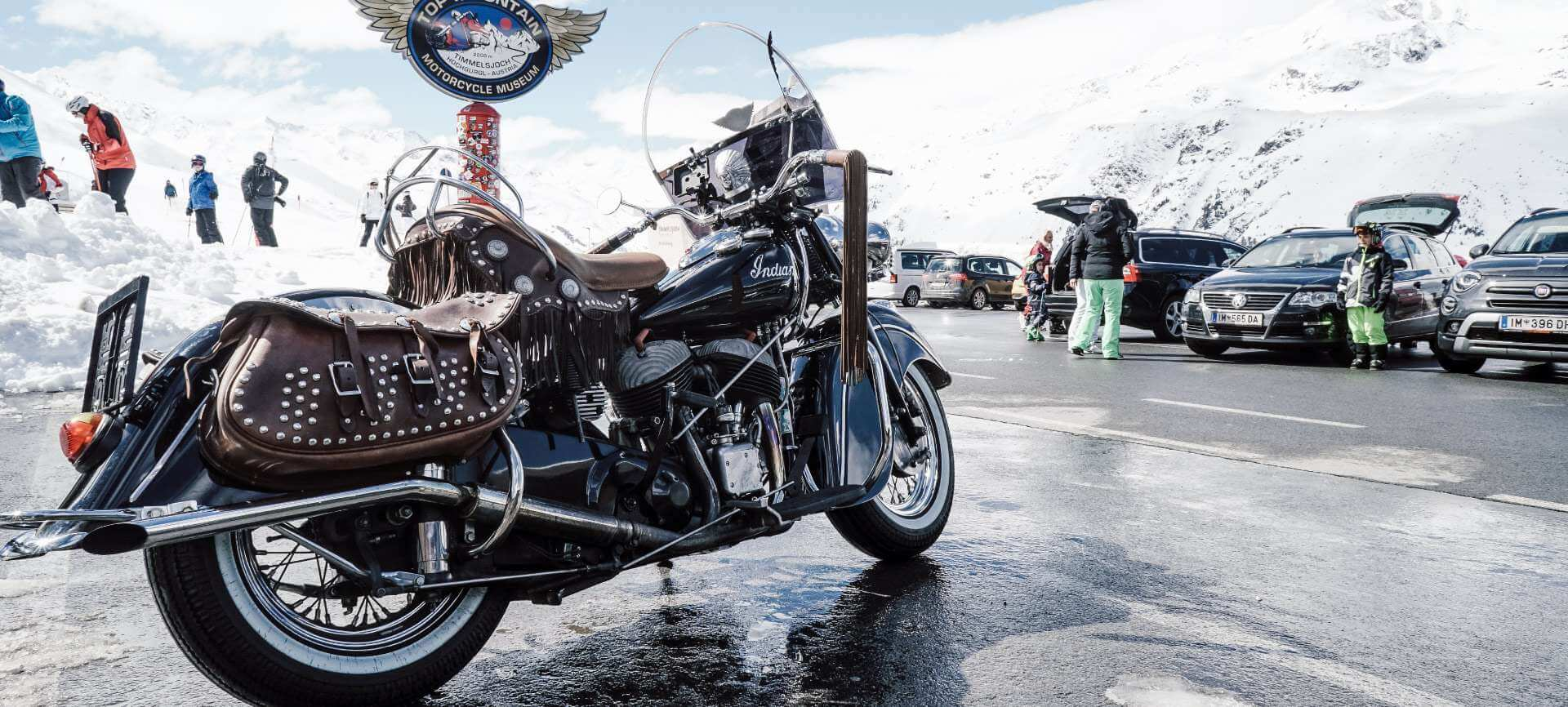 TOP Mountain Motorcycle Museum, Hochgurgl/Tirol: Sonderausstellung Indian Motorcycles
